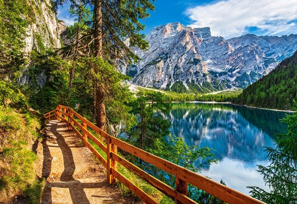 Image of   Braies Lake, Italy