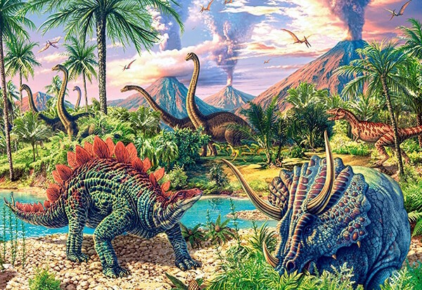 Dinosaur Volcanos