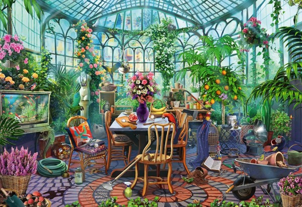 Image of   Greenhouse Mornings