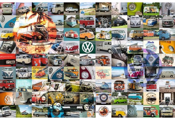 Image of   99 VW Campervan Moments