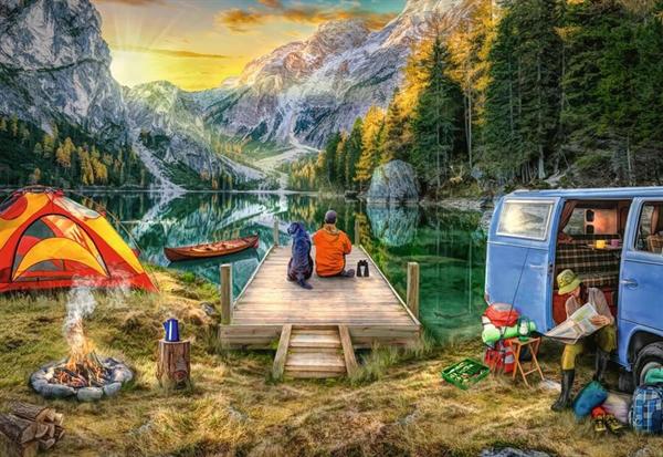 Image of   Calm Campsite