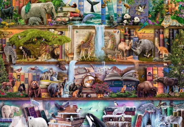 Image of   Wild Kingdom Shelves