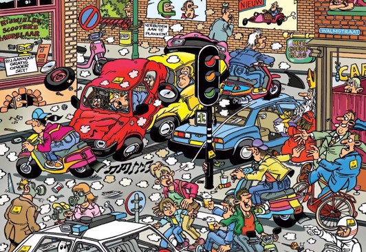Image of   Traffic Chaos