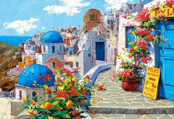 Image of   Spring in Santorini