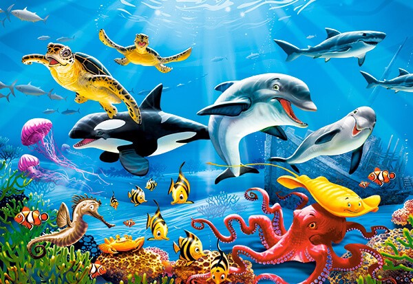 Image of   Tropical Underwater World