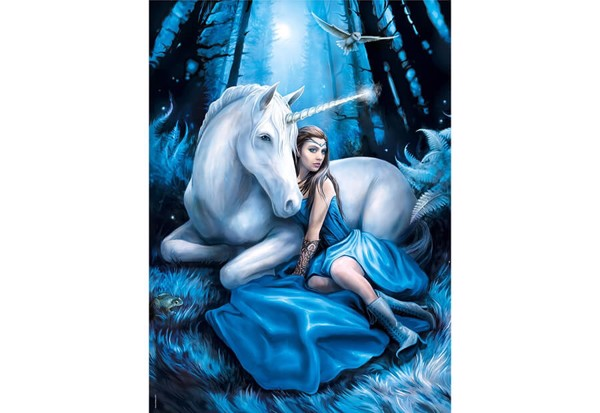 Image of   Anne Stokes Blue Moon