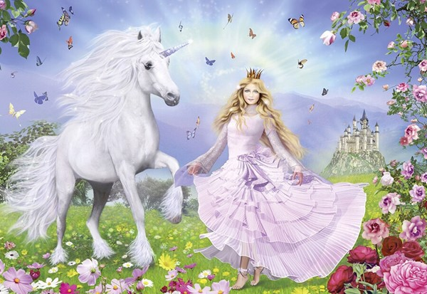 Image of   Princess of the Unicorns