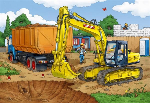 Image of   Digger (med gravemaskine)