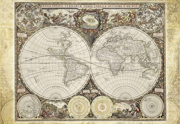 Image of   Old World Map