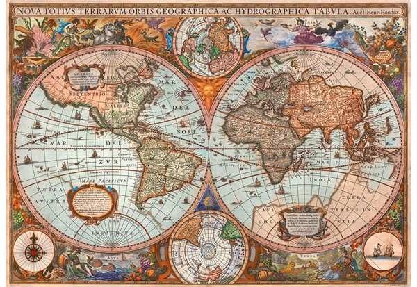 Image of   Ancient World Map
