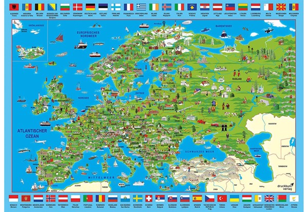 Image of   Discover Europe