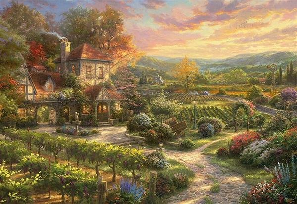 Billede af In the Vineyards
