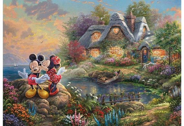 Image of   Sweethearts Mickey & Minnie