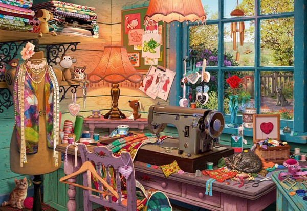 Image of   In the Sewing Room (Secret Puzzle)