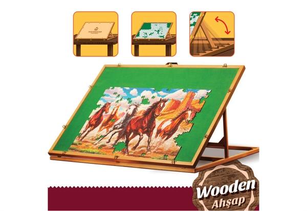 Image of   Art Puzzle Staffeli til Puslespil